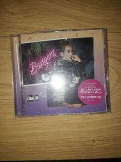 Miley Cyrus Bangerz Album