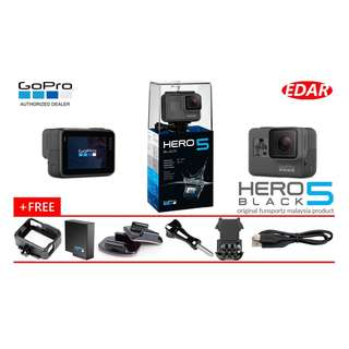 GOPRO HERO 5 ACTION CAMERA (BLACK)  ««ORIGINAL & OFFICIAL FUNSPORTZ»»