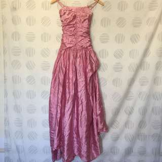 PINK GOWN 8 TO 9 YEARS OLD