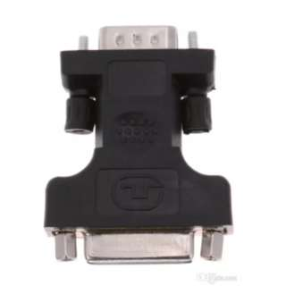 DVI-I (Dual Link) Female to VGA Male Cable Adapter