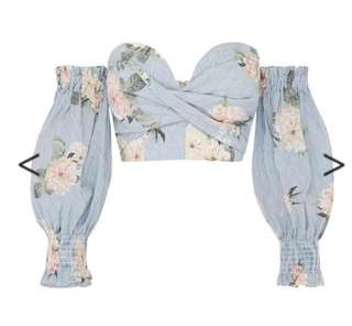 Sheike Floral Top