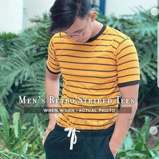 MEN'S RETRO STRIPED TEES