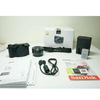 Nikon 1 J5 (Body +Lens / 相機機身+鏡頭)