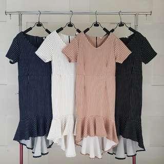 Jolie Ruffle Dress