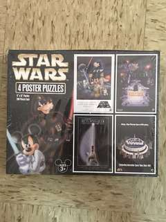 Star Wars Disney Poster Puzzle