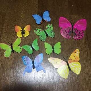 Magnet butterfly kid children decor