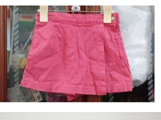 🚚 二手~童裝 COUCHE TOT 畫家紗兒 裙褲 短裙~110cm  #五十元好物
