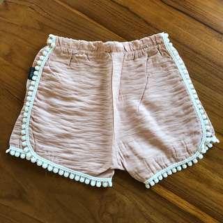 🚚 波西米亞花邊修身小短褲