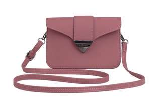 Dusty rose cross body