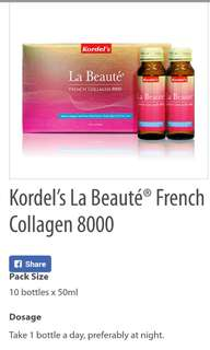 Authentic Kordel's La Beaute