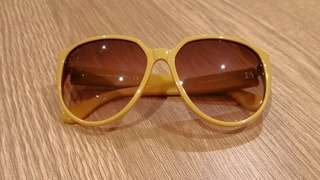 Tod's sunglasses mustard BRAND NEW Made in Italy