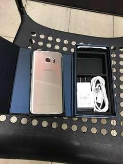 9.5成新 三星s7 edge 32G 銀 cp值高手機