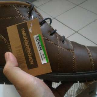 Sepatu WEINBRENNER BOOTS size 10