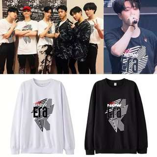 Preorder - GOT7 NEW ERA SWEATSHIRT *S-3XL* exc.pos