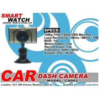 Smart Watch DASH Camera (FHD 1920x1080p Resolution @30fps) Model: CD002