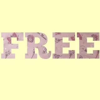 [真免費] Free items 整理list [不斷更新] (只限順豐到付,部分小物可平郵)