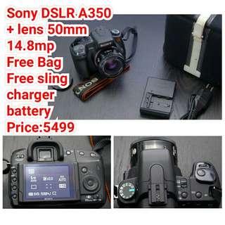 Sony DSLR A350