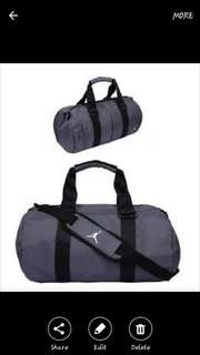 Nike jordan duffel gym sports bag small 44liters