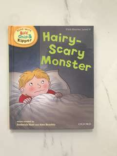 Oxford biff, chip & kipper hairy scary monster