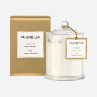 Glasshouse Candle 350g Kyoto