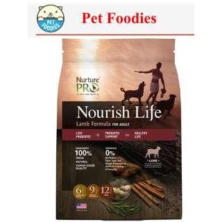 [ PET FOODIES ] Nurture Pro - NOURISH LIFE LAMB FORMULA FOR ADULT