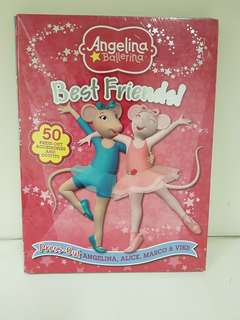 Children's Story Book - Angelina Ballerina Best Friends: Press Out Story & Activity Book