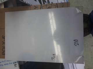 318mm x 210mm 6mm Thick Clear Polycarbonate Sheet