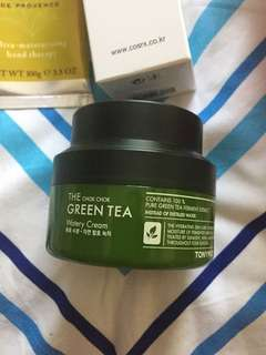 TonyMoly Chok Chok Green Tea Cream