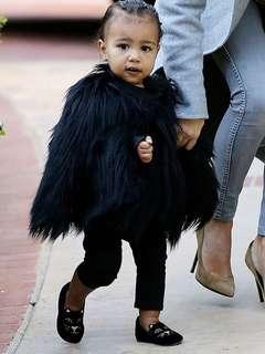 Fur Coat Baby Size & Kid Size