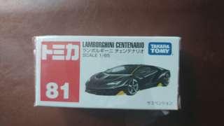 Takara Tomy車仔 Lamborghini Centenario 87