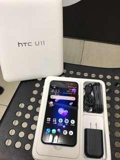 9.9成新 HTC U11 128G 藍色 盒裝完整 極新