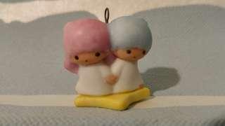 Sanrio little twin stars littletwinstars 雙子星 絕版 陶瓷 陶器 擺設 吊飾 掛飾 罕 vintage
