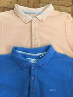 LOT OF 2 GINGERSNAPS POLO SHIRT