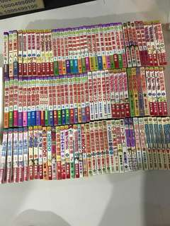 Japanese Taiwanese teenage or Girls comics manga