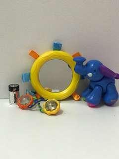 Baby toys set a