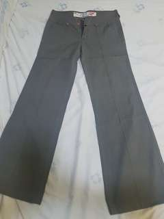 Olive Green Lined Slacks
