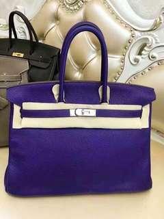 超美的紫色🔥Hermes Birkin 35 9K紫色🍭