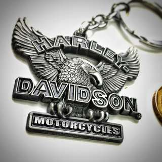 BN Harley Davidson Metal Keychain
