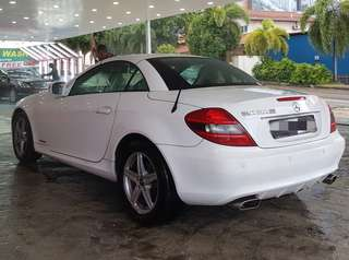 Mercedes Convertible SLK200 for Cheap Lease / Rental