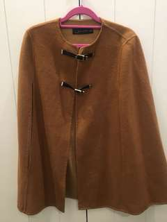 Zara cape coat