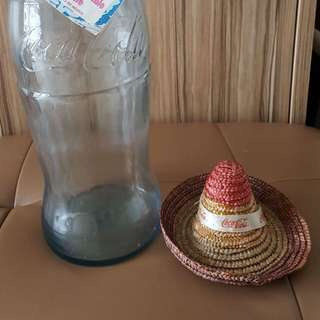 Coke 50cl large glass bottle limited addition