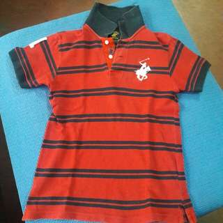 original Beverly Hills polo club polo shirt ( 9 to 10 yrs old)
