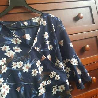 Floral Kimono Blouse / Top