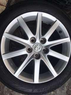 lexus gs車款車框 輪框 17吋4個