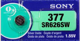 Sony Battery 377 SR626SW