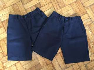 LOT OF 2 FREEGO SCHOOL SHORTS MEDIUM