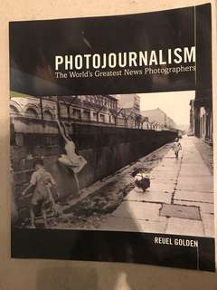 Photojournalism book by Reuel Golden