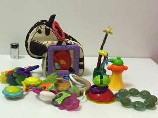Baby Toys set e