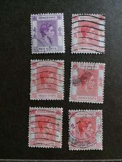 香港郵票 1997年回歸前已銷郵票A001