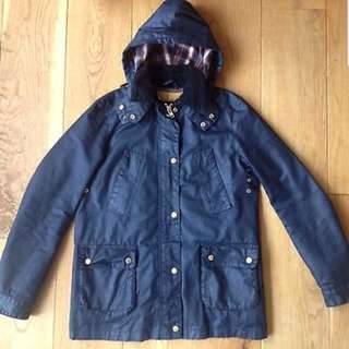 Zara woman navy coat size s